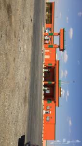 ( للإيجار ) محطة وقود موقع مميز على طريق دولي