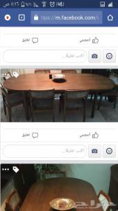 طاولة كبيره خشب اصلي