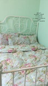 سرير ايكيا حديد ابيض