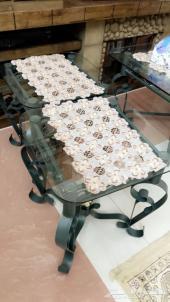 طاولات مجلس زجاج