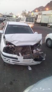 سيارة هونداي النترا مصدومة للبيع