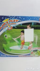 جديد مسبح مع نافورة للاطفال