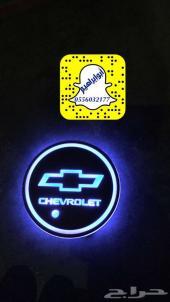 شعارات ليد لاكواب السيارة متعددة الاللوان.