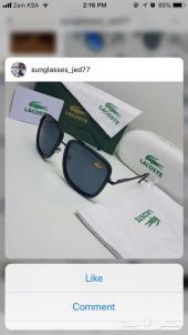 نظارات شمسية ماركة بسعر 60 ريال درجة اولى