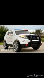 سيارة الشرطة للاطفال جديد