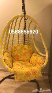 كرسي مرجيحه جديد لم يستخدم