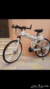 دراجة قابلة للطي..