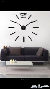 ساعة 3D كبيرة للجدار .