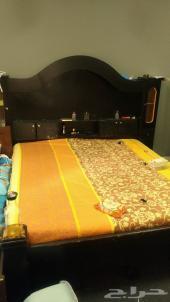 غرفة نوم سرير تسريحة ودولاب البيع اليوم