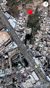 أرض للبيع قريبة من طريق المدينة العسكرية
