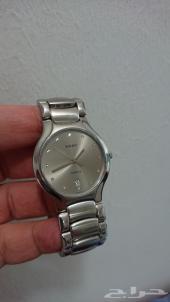 ساعة شبه جديدة نوع رادو RADO سويسرية أصلية