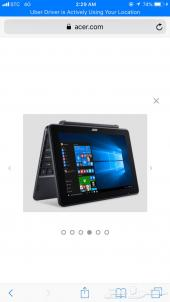 Acer 10 laptop 2in 1
