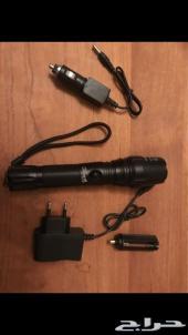 كشاف ماركة ultrafire يدوي LED بقوة 3800 شمعة