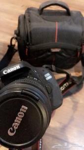 كاميرا كانون 600d للبيع بالقصيم او الرياض