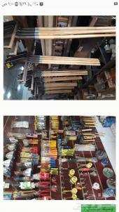 محل مواد سباكه وكهرباء وبناء للبيع