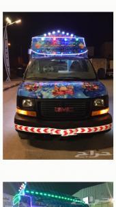 سيارة ايسكريم 2012 للتأجير