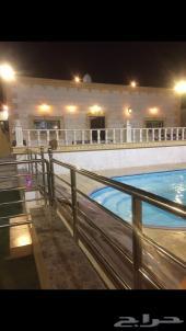 استراحة بعرض 899 مسبح كبير رخام واثاث راقي