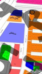 ارض للبيع شارعين تجاريه