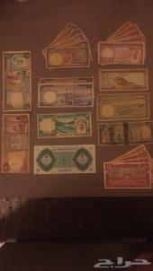 عملات سعودية قديمه من عهد المؤسس ا