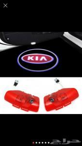بروجكتر الترحيب للابواب بشعار KIA