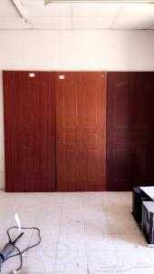 أبواب خشب داخلية (pvc- mdf) للبيع جملة وقطاعي