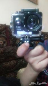 كاميرا للتصوير تحت الماء ودفاية جبسون