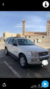 إكسبلورر سعودي  فل كامل وكاله مصين مجدد جاهز