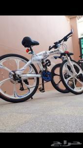 دراجة هوائية  قابلة للطي .