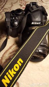 كاميرا نيكون d3100 جديده