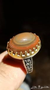 مزاد رقم ( 74 ) خاتم عقيق سليماني