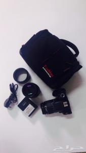 Canon 600D مع عدستين
