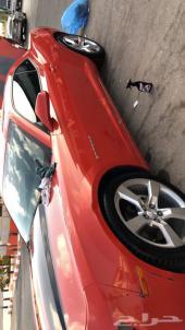 صدام امامي وخلفي كمارو 2012 برتقالي
