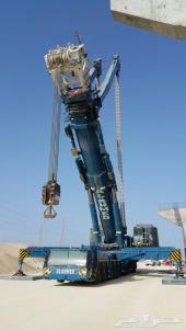 تأجير معدات ثقيلة كرين 1200طن
