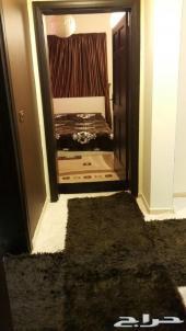شقة غرفتين مؤثثة ب1600ريال جدة الصفا الشاكرين