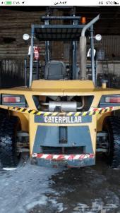 فوركلفت كتربلر 7 طن موديل 2012 للبيع