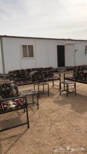 مخيم للايجار طريق الكويت