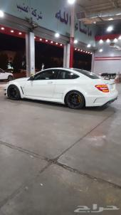 C63 2012 coupe kit black serias