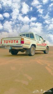 سيارة ونيت هايلوكس موديل 97 غمرتين