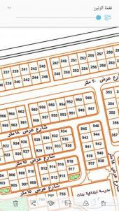 للبيع أرض في حي قرطبه بلك ( د) شارع 40