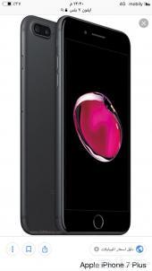 للبيع ايفون 7 بلس لون اسود مطفي
