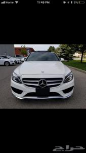 2015 Mercedes Benz C300 4matic White On Black