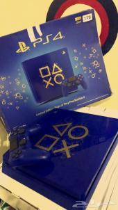 بلايستيشن 4 PS Blue حصريه