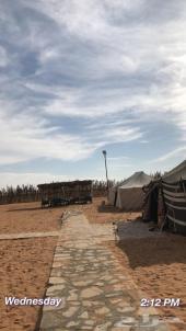 مخيم للبيع بالثمامة على الطعس