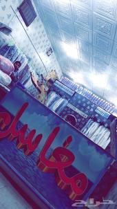 مغسلة ملابس معه عامل للبيع