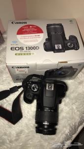 كاميرا كانون D1300 جديده