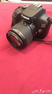 كاميرا كانون 4000D تعمل بالWi-Fi