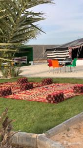 استراحة بمزارع الهليباء للأجار اليومي