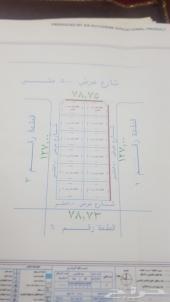 مخطط في العرفاء اربع شوارع