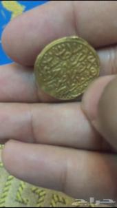 عمله عثمانية قديمة للبيع ذهب