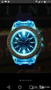 ساعة رجالية - من السيليكون   مضيئة   بتصميم ر